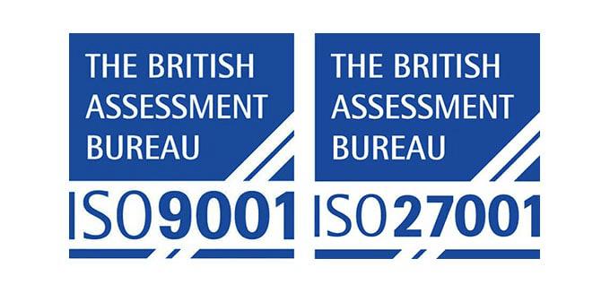 Blue Sky hosting ISO standards