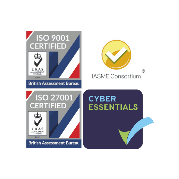 Cyber Essentials IASME or ISO27001